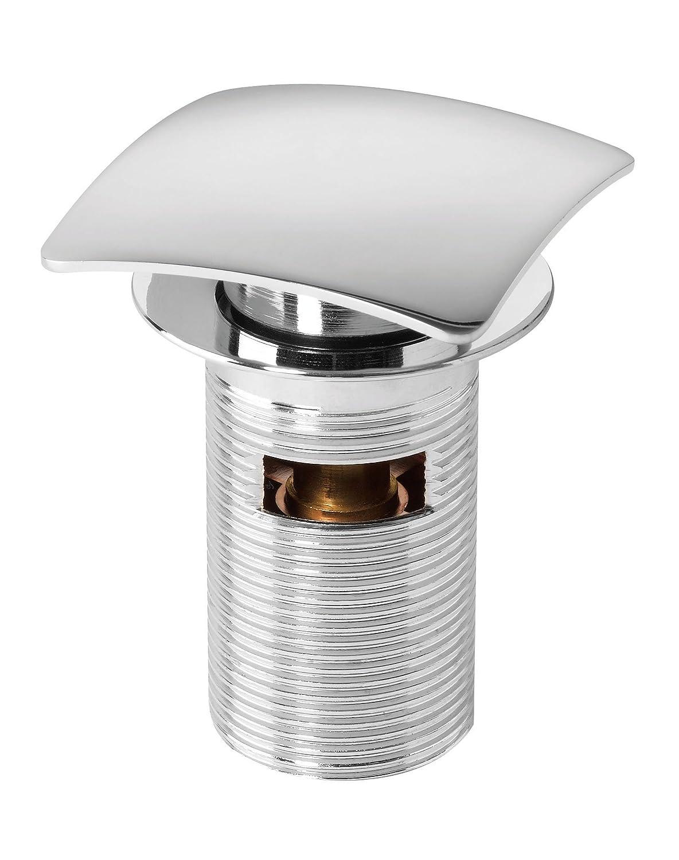 color blanco Plumboba 764143 27 mm Anillo adaptador con rebosadero vertical circular