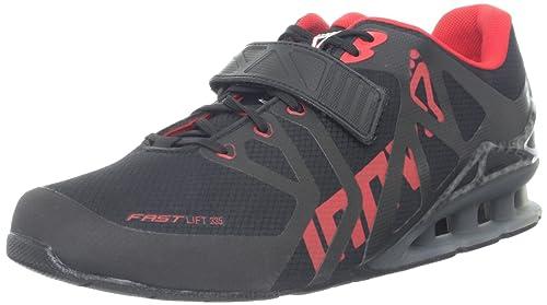 INOV8 Fastlift 335 Zapatilla de Fitness Caballero, Negro/Gris/Rojo, 48: Amazon.es: Zapatos y complementos