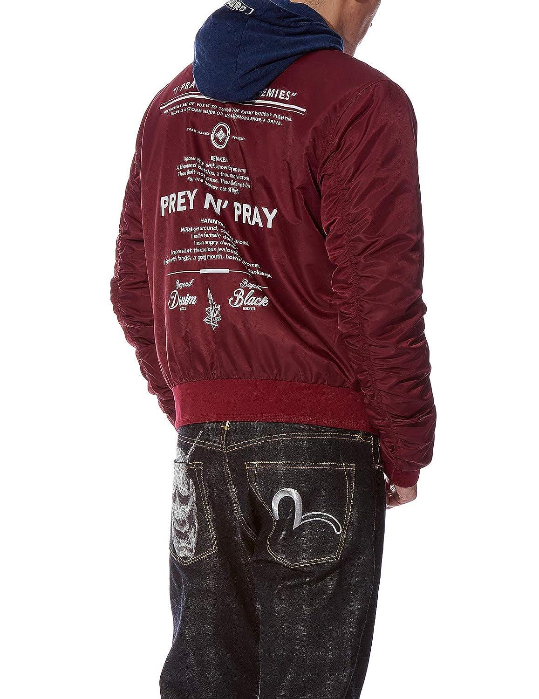 5af7fa46dd03 Amazon.com   Evisu EVISUKURO Seagull Print Reversible Jacket   Sports    Outdoors