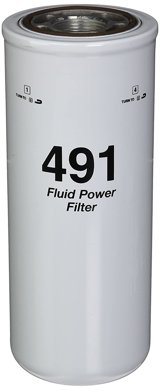 51491 Heavy Duty Spin-On Hydraulic Filter WIX Filters Pack of 1