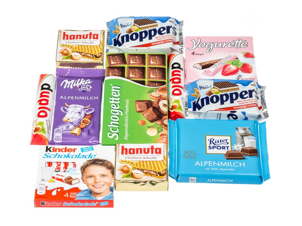 Mini caja de dulces y chocolates alemanes: Amazon.es: Alimentación y bebidas