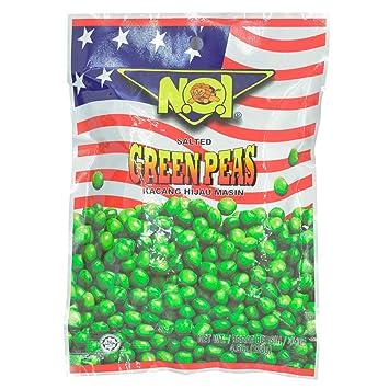 Amazon.com : Tong Garden Noi Peas Peanut Bean 128g (628MART) (Green ...