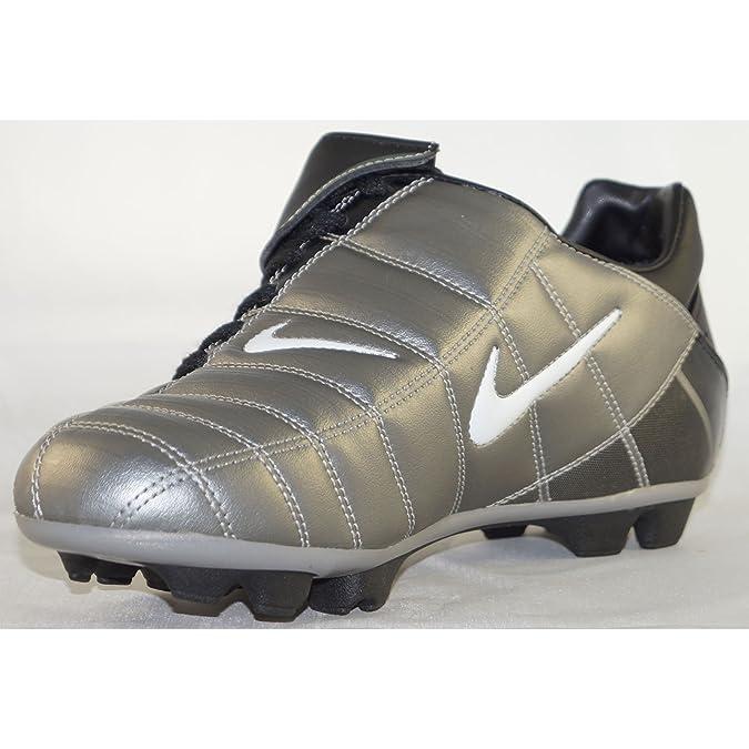 Nike Total 90 II FT Fussballschuhe grauschwarzweiß