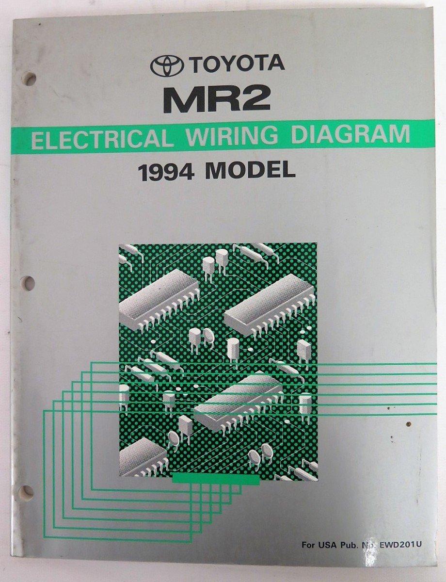 1994 Toyota Mr2 Wiring Diagram Manual Original Toyota Amazon Com Books