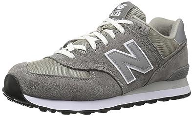 new balance 574 hombres zapatillas gris