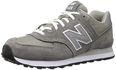 new balance men's 574 trainers black