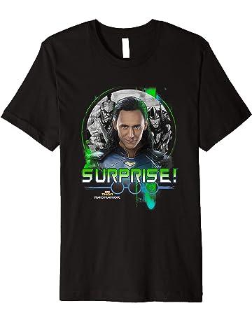 cae1d6de89303 Marvel Thor Ragnarok Loki Surprise Green Pop Graphic T-Shirt