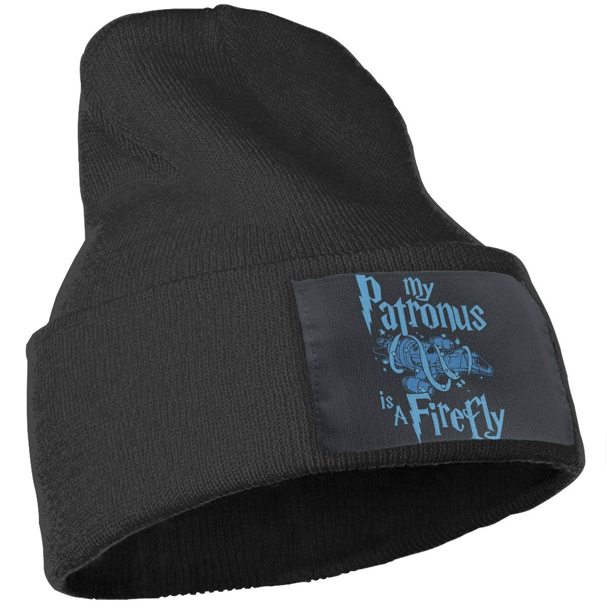 My Patronus is A Firefly Men /& Women Winter Fashion Pure Color Hat