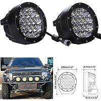 """SXMA 5""""pulgadas 80W Luces de conducción LED redondas Luz de trabajo LED Parrilla delantera Focos del parabrisas Luces de…"""