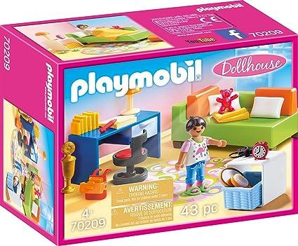 Amazon.com: Playmobil 70209 Habitación de adolescentes ...