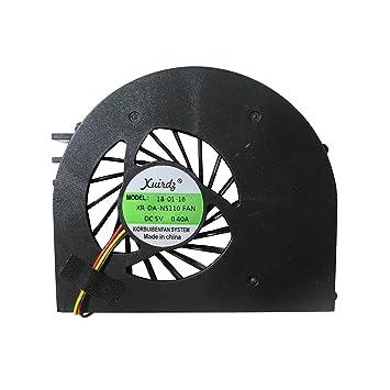 DELL Inspiron 15R N5110 Ins15RD m5110 m511r 15RD Procesador del ordenador portátil ventilador, refrigerador: Amazon.es: Bricolaje y herramientas