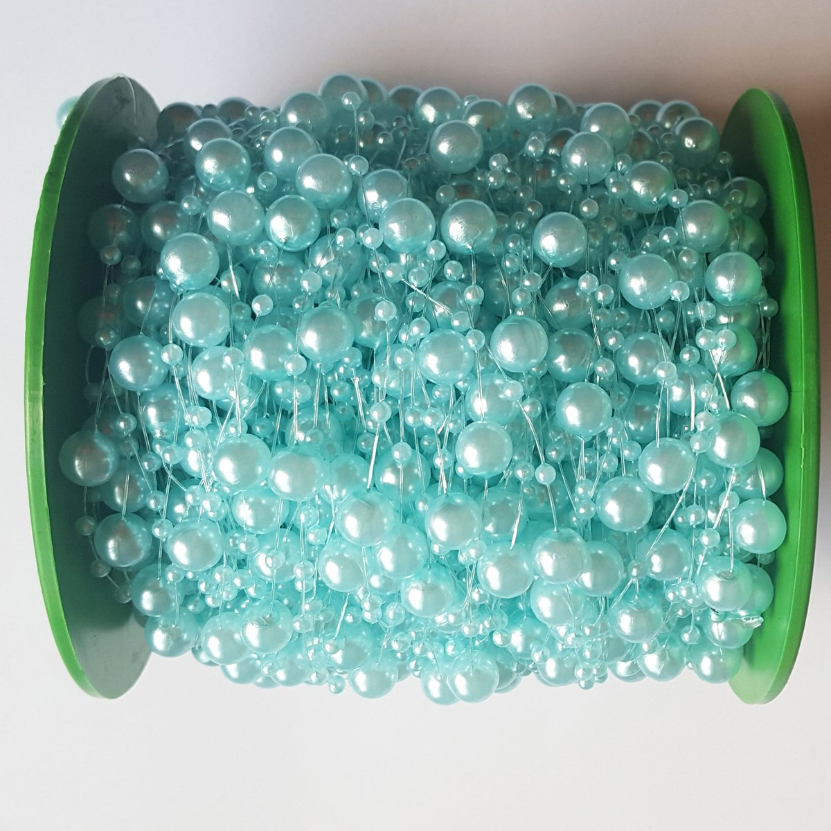 AiFanS 200ft Light Blue Pear Garland Roll for Wedding or Party Decoration Greatplastic 4337027808