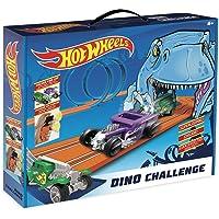 Hot Wheels- Dino Challenge Circuito Slot, Multicolor (Fábrica