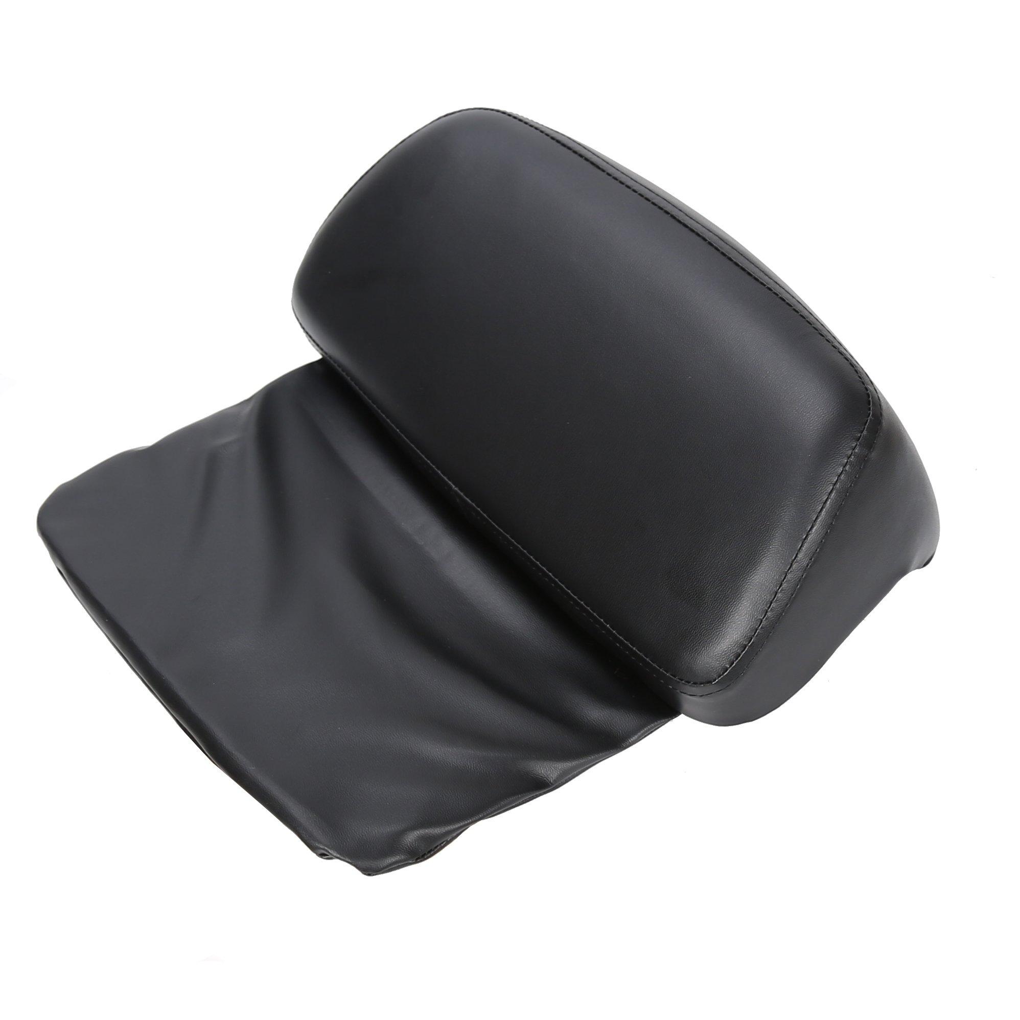 Chopped Tour Pak Pack Trunk Rack Backrest Pad For 14-17 Harley Street Road Glide