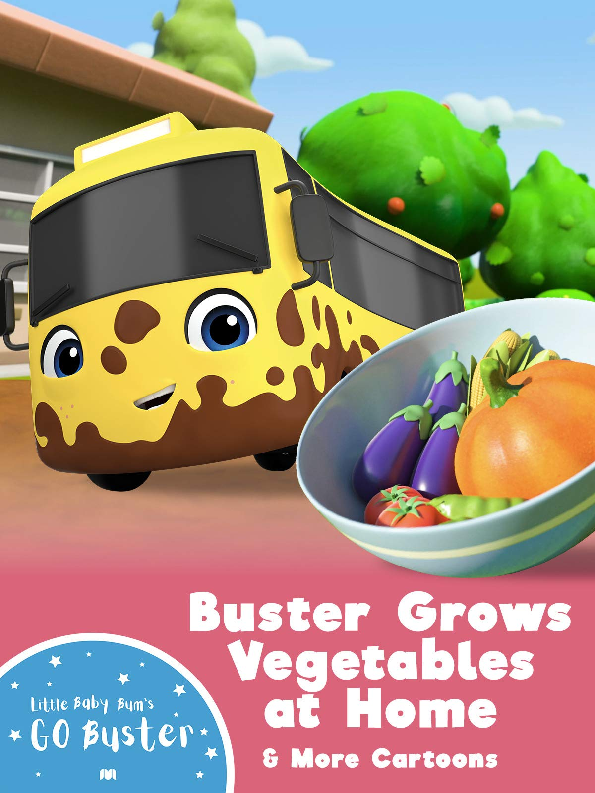 Go Buster - Buster Grows Vegetables at Home & More Cartoons