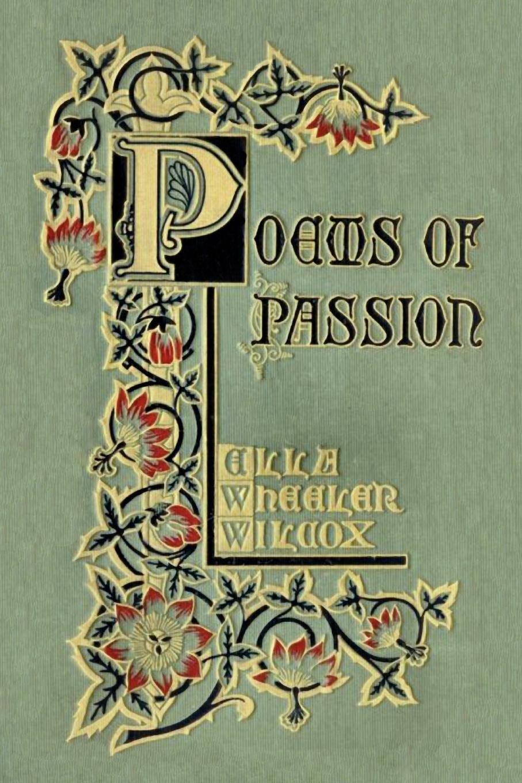 Download Poems of Passion pdf epub
