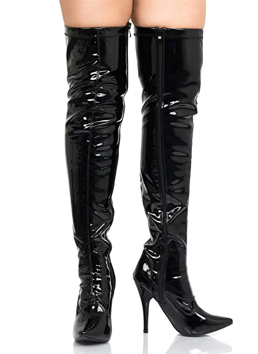 For that pvc thigh boot fetish