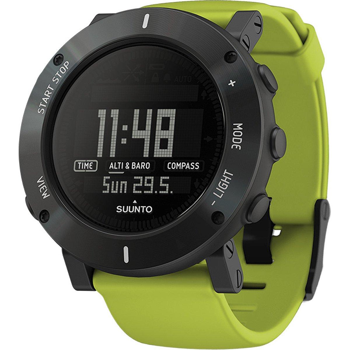 Suunto Core Crush Altimeter Watch Lime Crush, One Size