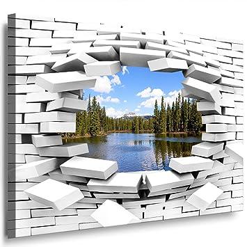 JULIA ART 62wl2 S   Format 60   50 Cm Bild Auf Leinwand Wald,