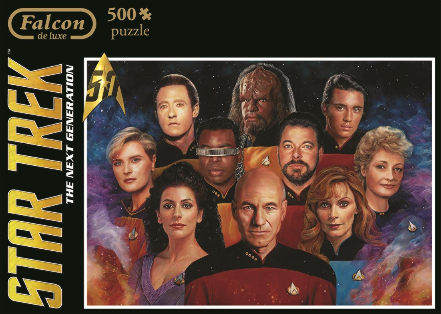 500 Piece Jumbo Star Trek Next Generation Jigsaw Puzzle
