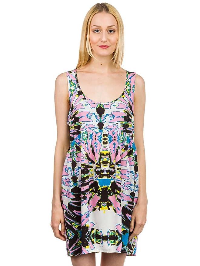 af47dd3171 Vans Women s Sleeveless Sagittarius Dress-Pink at Amazon Women s Clothing  store