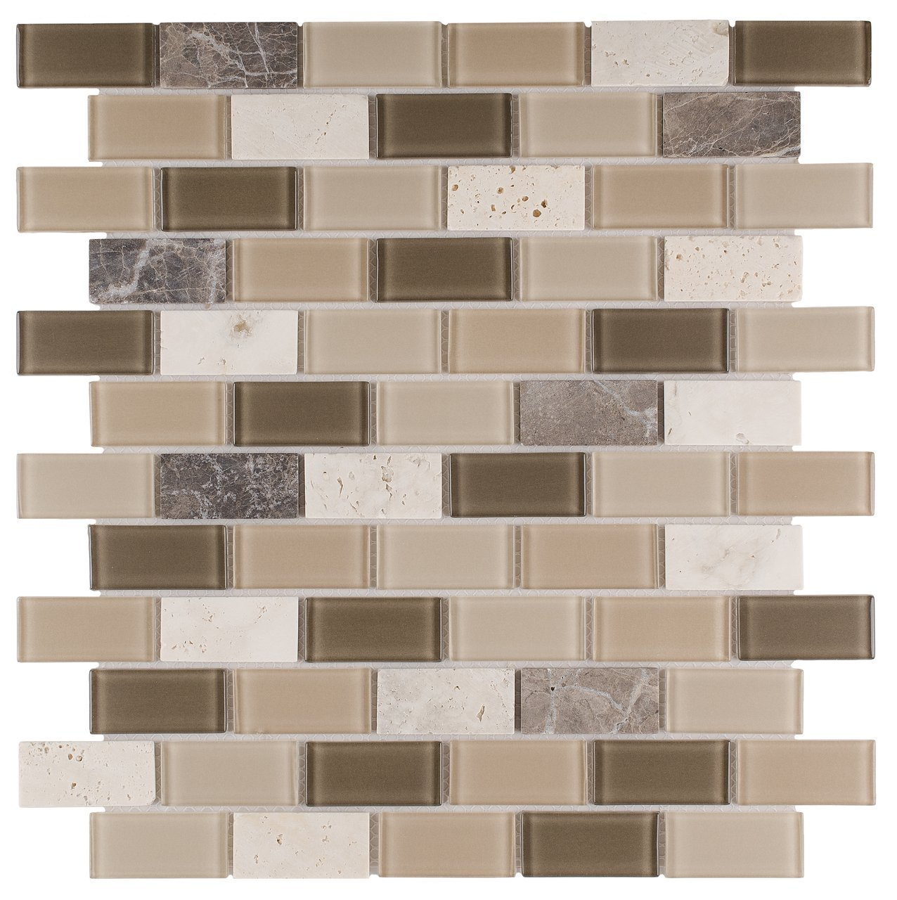 - Easy Install Kitchen 4-Pack Peel And Stick Black White Mosaic Tile