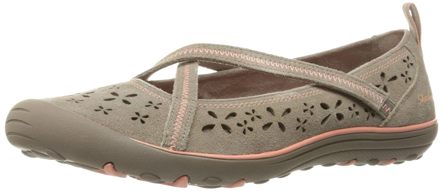 6152e8757ba3 on sale Skechers Women s Earth Fest Sustainability Mary Jane Flat ...