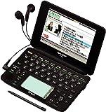シャープ Brain 手書きパッド搭載カラー液晶電子辞書 総合モデル 音声対応100コンテンツ+150動画収録 ブラック系 PW-AC920-B