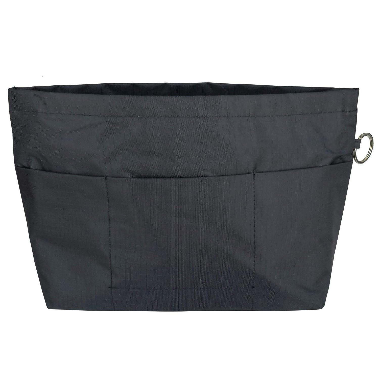 Organizador de Bolso HyFanStr Negro - Nylon-Pocket-Black-XL Negro