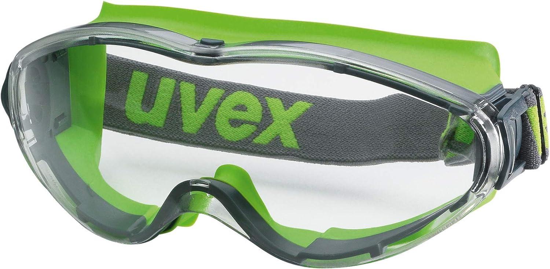 Uvex Ultrasonic - Gafas protectoras transparentes para personas con gafas
