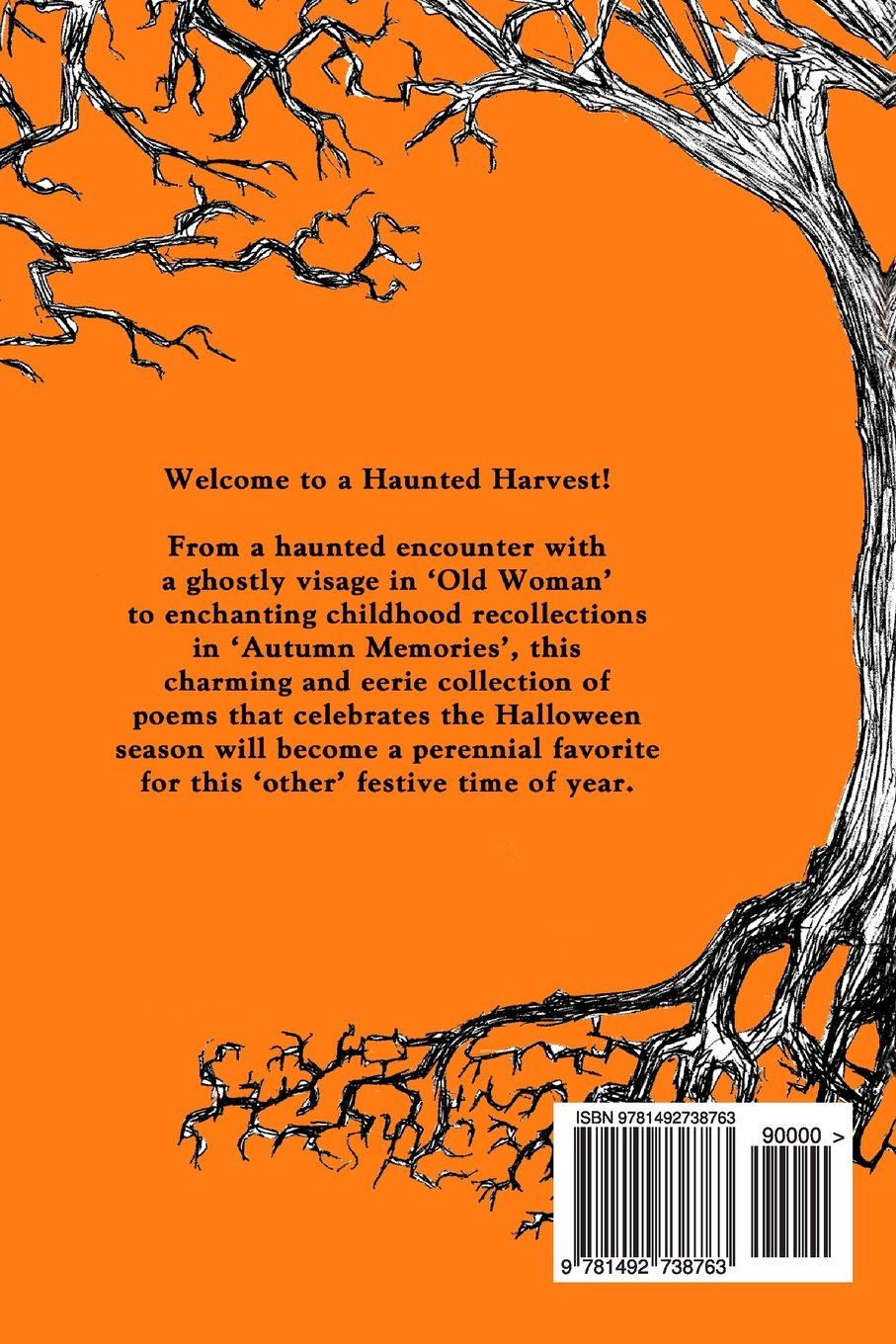 haunted harvest a collection of eerie poems to celebrate