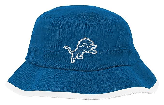 Amazon.com   Outerstuff NFL Infant Team Bucket Hat-Lion Blue-1 Size ... d0a28dea3d6