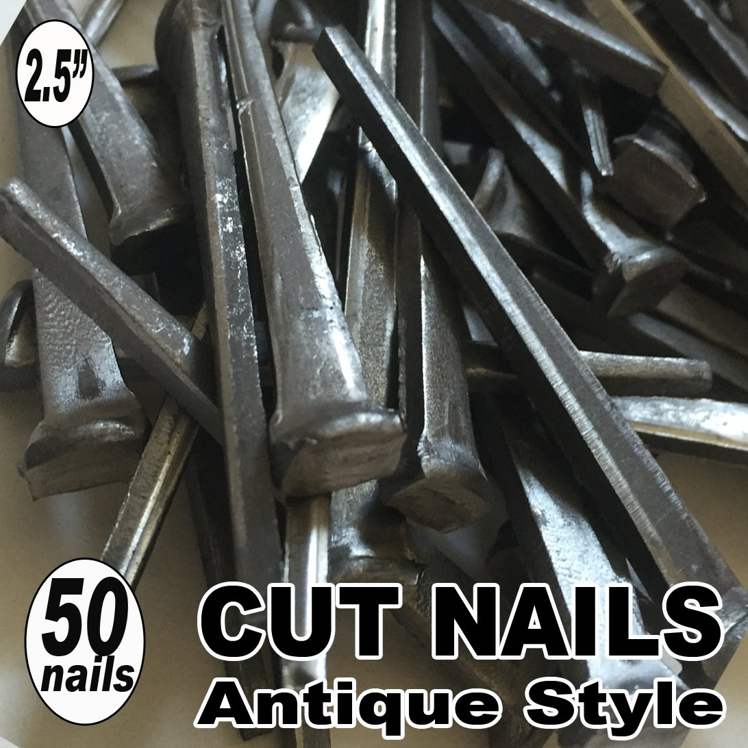 (50) 2.5'' COMMON CUT Nails-Antique Style