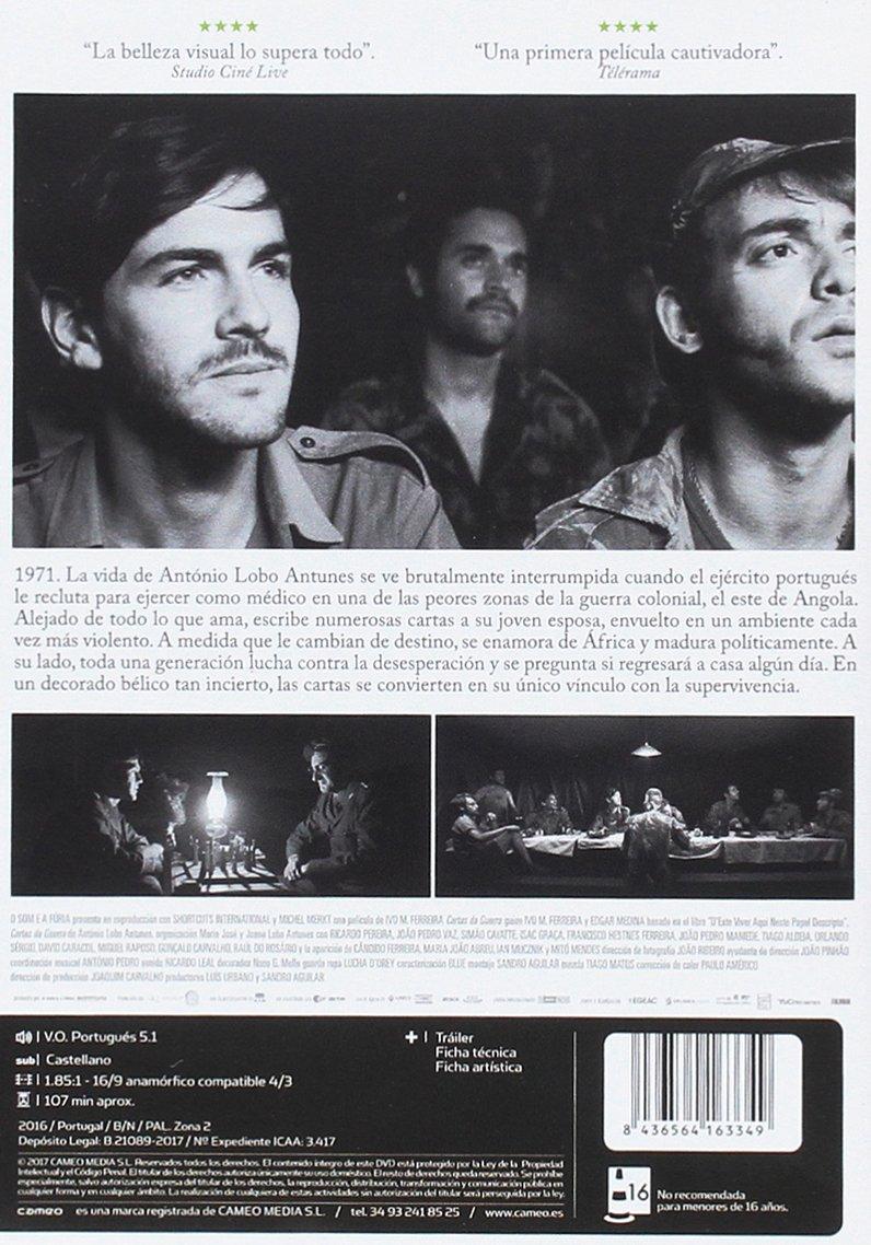 Cartas de la guerra [DVD]: Amazon.es: Miguel Nunes ...