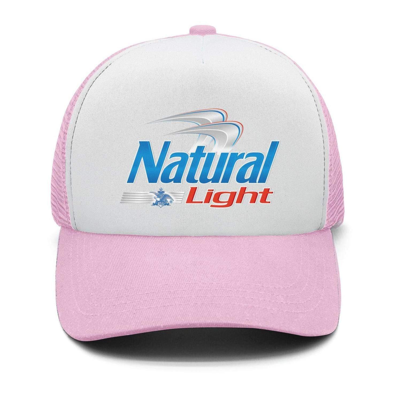 Univeins Mens Street Dancing Snapback Hat Natural-Light-Beer-Logo Adjustable dad Cap