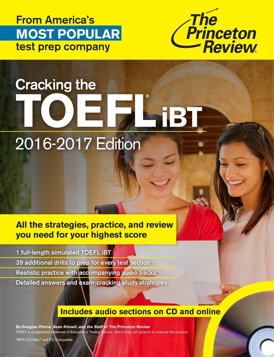 Cracking the TOEFL iBT with Audio CD, 2016-17 Edition (College Test Preparation)