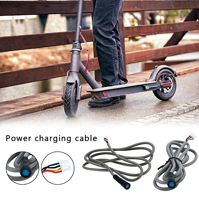 jinclonder Cable de alimentación para Xiaomi M365 Scooter ...