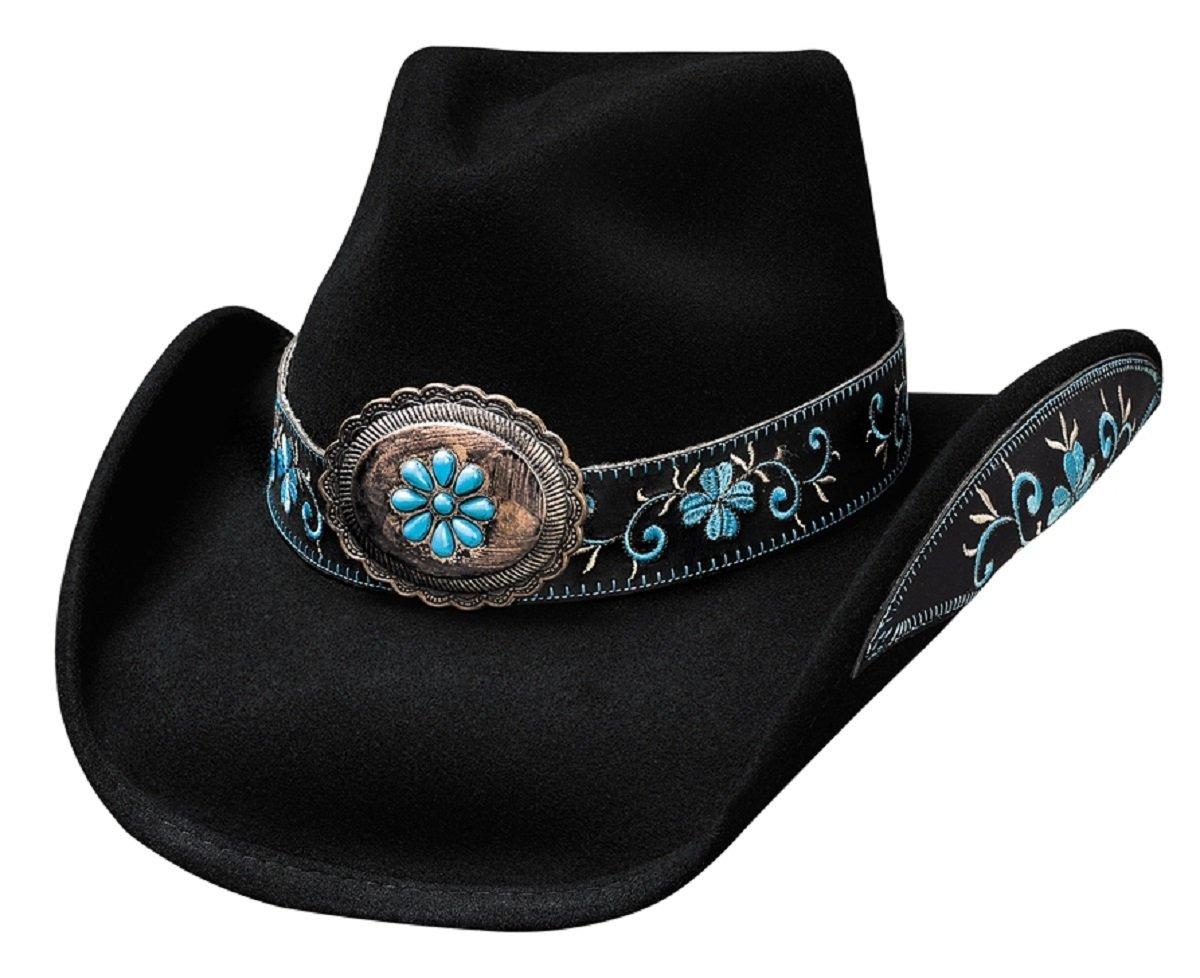 Bullhide Women's All For Good Wool Cowboy Hat Black Medium