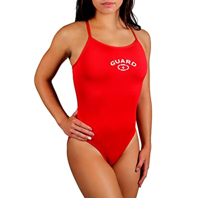 Adoretex Womens Guard Cross Back Swimsuit