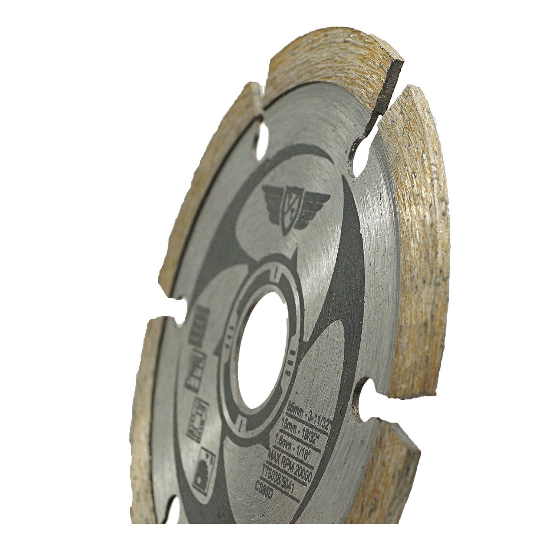 Bosch 4/X Topstools Csk85//_ 4/85/mm 24T 44T 60T TCT HSS Diamant 15/mm al/ésage Lames de scie pour Worx Makita Ryobi Rockwell et beaucoup dautres