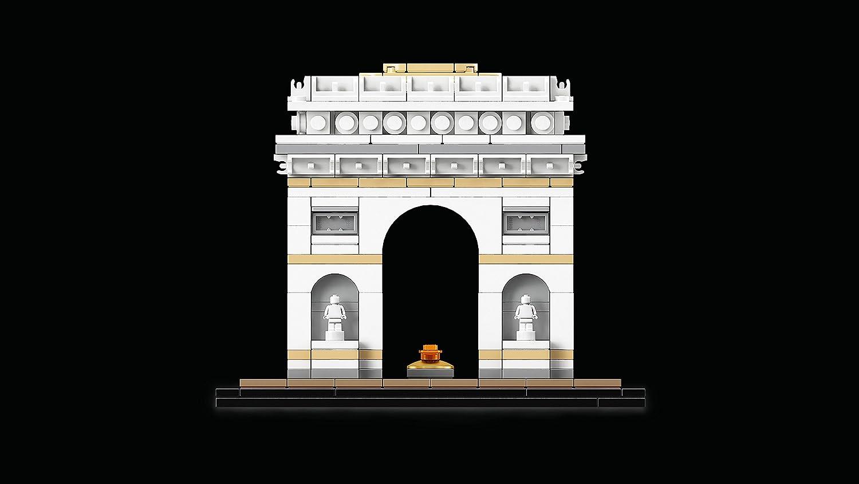 lego architecture l arc de triomphe 21036 jeu de. Black Bedroom Furniture Sets. Home Design Ideas