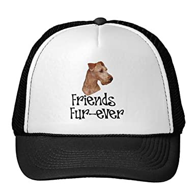 e5ef2298 Unisex Black Irish Terrier Friends Fur-Ever Trucker Classic Baseball ...