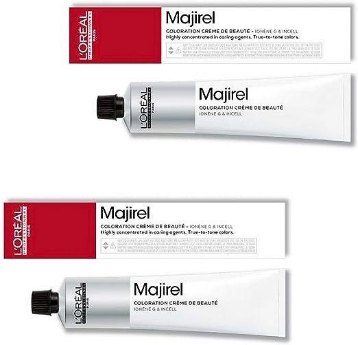 Loreal Majicontrast - Tinte para el cabello (2 unidades, 50 ml), color rojo
