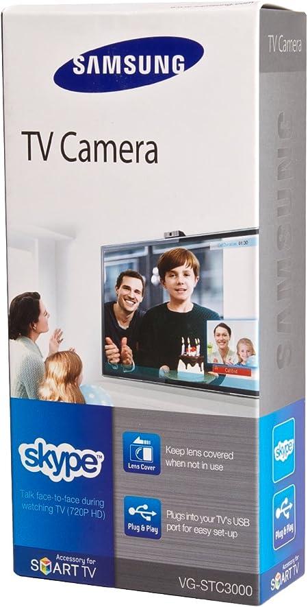 Samsung VG-STC3000 - Webcam (Micrófono Incorporado), Negro: Amazon.es: Electrónica