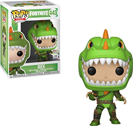 Funko Pop Figura de Vinilo Rex Fortnite, Multicolor (34957)