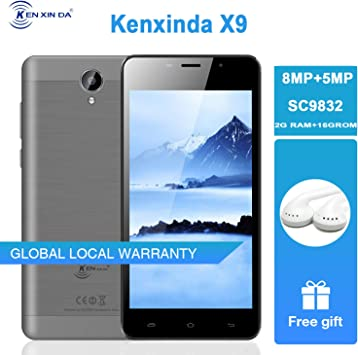 Smartphone Ken X9 4G sin Contrato, 5,5 Pulgadas, Desbloqueado ...