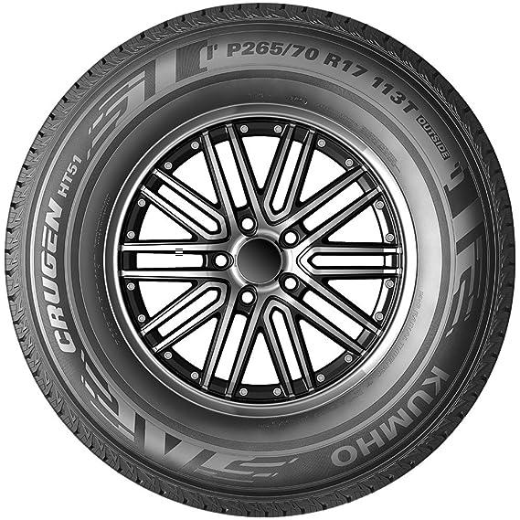 amazon kumho crugen ht51 all season radial tire 265 65r17 112t 275 55R20 in Inches amazon kumho crugen ht51 all season radial tire 265 65r17 112t sl ply automotive