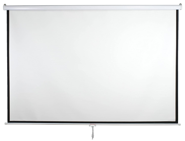 amazon com vivo 100 projector screen 100 inch diagonal 16 9 rh amazon com projector screen manual pull down best projector screen manual