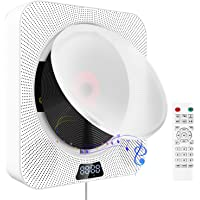 CD Player with Bluetooth, Portable Wall Mountable CD Music Player, Home Audio Boombox with… photo