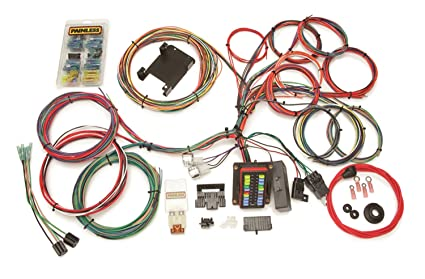 amazon com painless 10140 20 circuit waterproof wiring harness rh amazon com waterproof boat trailer wiring harness Wiring Harness Diagram